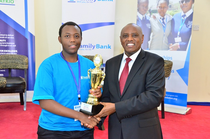 Best performing KCSE Student