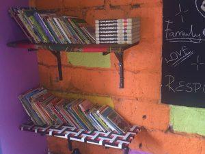 Complete book shelf